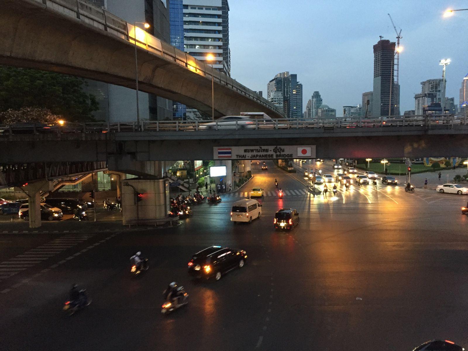 Dodgem Cars in Bangkok